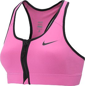 NIKE Women's Pro Zip-Front Sports Bra