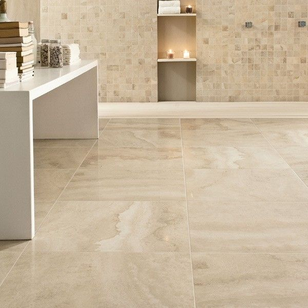 Light And Creamy Amalfi Avorio Is A Perfect Imitation Of Natural Travertine It S Available
