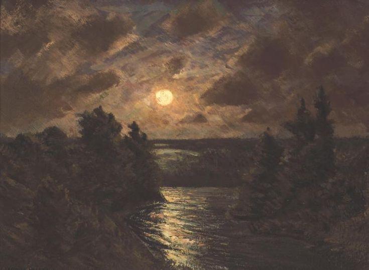 Moonlight on the Grand -HOMER RANSFORD WATSON. Гомер Уотсон