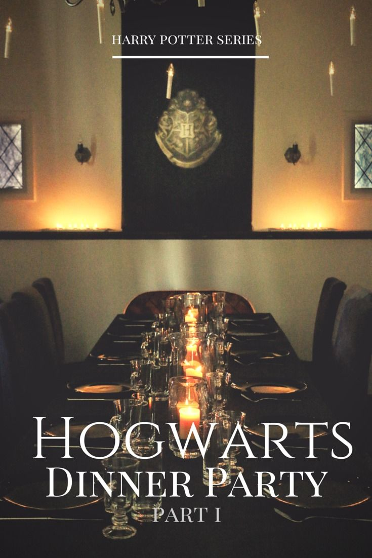 This is amazing....harry potter series | A Hogwarts Dinner Party | part 1