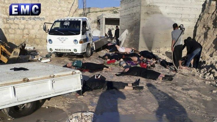 THE MILLENNIUM REPORT: Reporting the Most Important News in the World Today Another False Flag Gas Attack To Be Blamed On Syrian Government Victims of a suspected chemical attack, in the town of Khan Sheikhoun, northern Idlib province, Syria in...