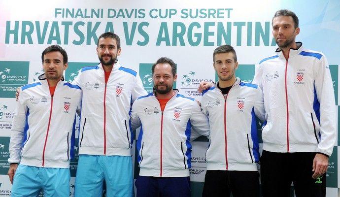 tênis copa davis croácia final 2016 (Foto: AFP)