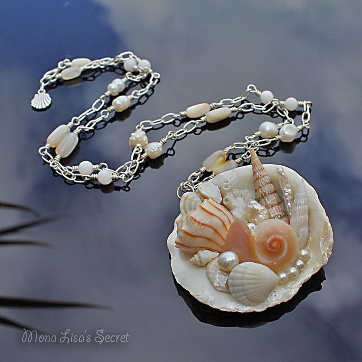 Make Your Own Seashell Jewelry: Best 25+ Seashell Necklace Ideas On Pinterest