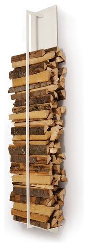 Tape Firewood Shelf - contemporary - fireplace accessories