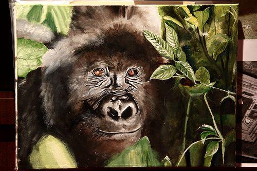Il gorilla!