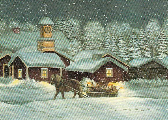 Erkers Marie Persson: Julottefard
