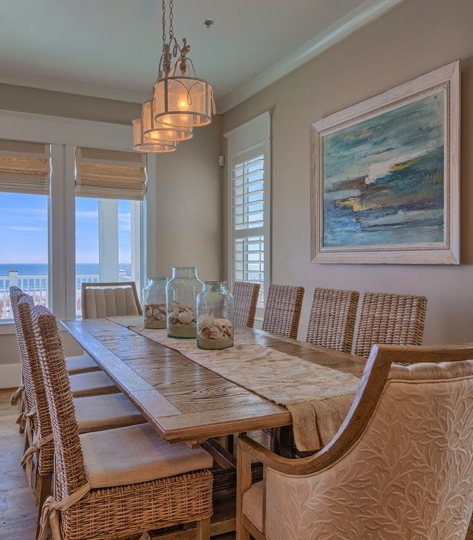 coastal dining room   The Veranda   Gulf Shores  Alabama. Top 25  best Coastal dining rooms ideas on Pinterest   Beach