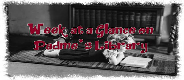 This Week at a Glance at Padme's Library, we had #Reviews #Releases #Promos #Giveaways(some are done some are open) there's genres & tropes of all kinds #LGBTQ #FridayFilmAdaptation #SaturdaySeriesSpotlight #SundaySafeWord #MondayMorningMenu Have a look there's something for everyone    https://padmeslibrary.blogspot.com/2018/03/week-at-glance-22618-3418.html