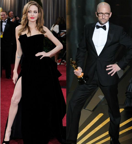 Jolie-ing! Angelina Jolie's Oscars pose spawns the new Tebow-ing