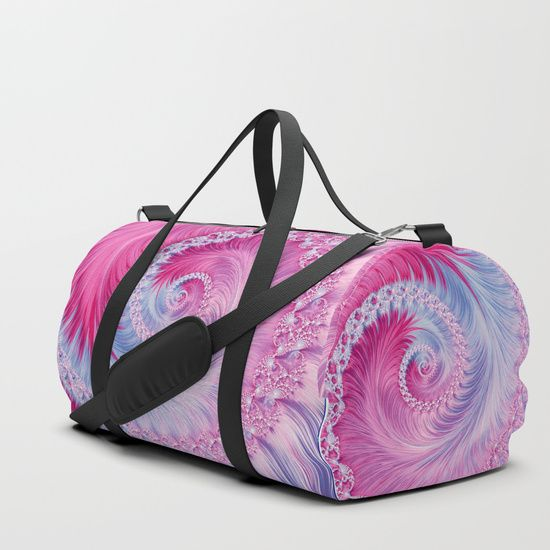 Crystal Spiral Abstract Duffle Bag on @society6 by Oksana Ariskina. All product: https://society6.com/oxygen #fashion #clothing #online #shop #design #geometry #metalic #bright #shine #psychedelic #abstract #briht  #trendy #stylish #fashionable #modern #amazing #bag #glitter #girly #twist #psychedelic #light #pink #sparkles #swirl #spiral