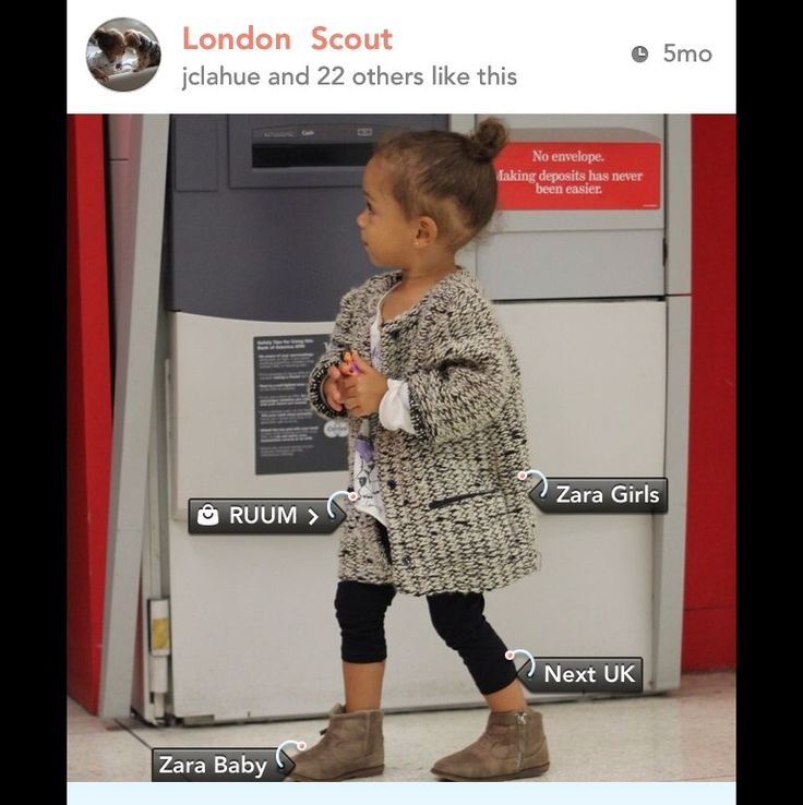 London Scout  <3 Not only do you get inspired by other stylish kiddies but you can stumble across numerous new brands!  #kidsFashion #KidsStyle