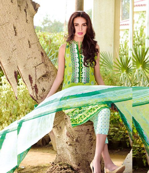 Gul Ahmed Embroidered Chiffon Collection C_415