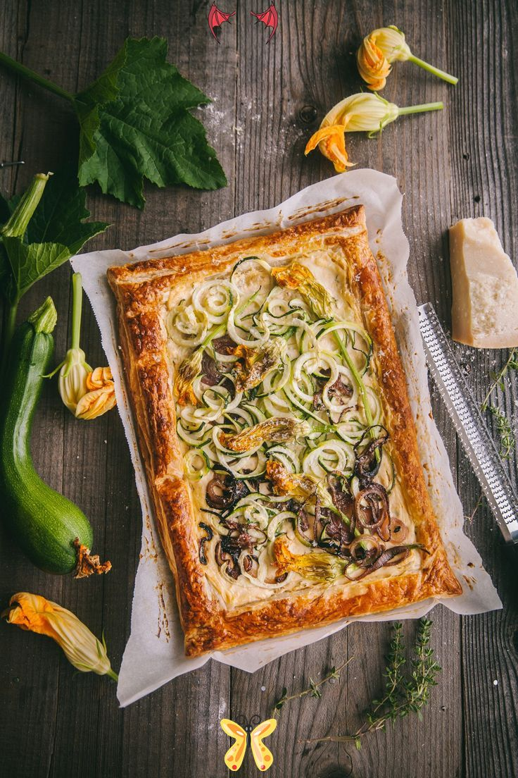 Zucchini Tart Easy In 30 Minutes Playful Cooking Zucchini Tart Playful Cooking Puffpastry Tart Zucchinitart Foodphotography Foodstyling Br Spiralize 2020