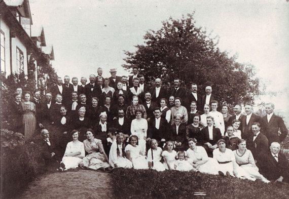 Vintage Photo  Family Photo  Wedding photo  1920s Photo
