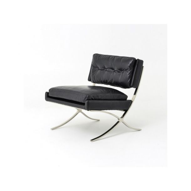 Gatwick Lounge Chair-Os Black | Memoky.com