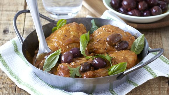 Chicken Cacciatore Cooked in a Bag