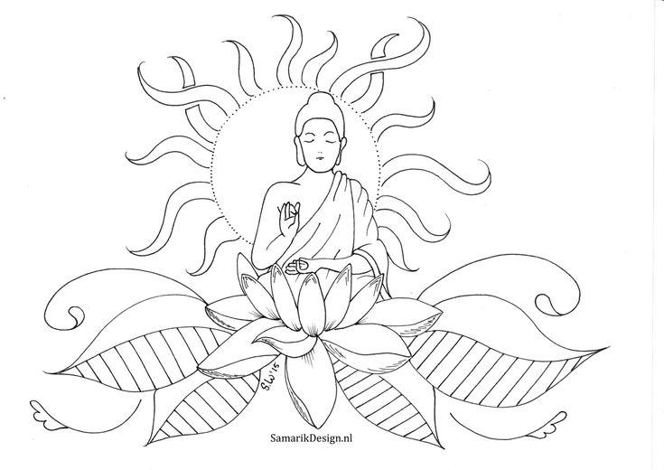 10 besser buddha malvorlage erleuchtung 2020  glasmalerei