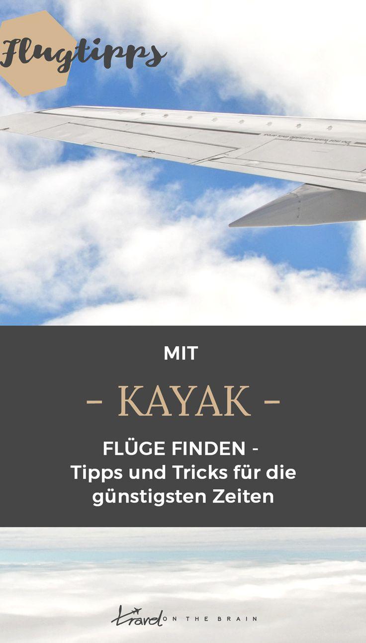 Mit Kayak Flüge finden – Tipps und Tricks für die günstigsten Zeiten