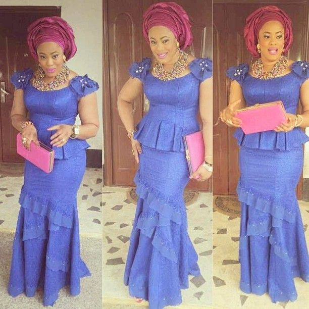 17 Best images about Aso-Ebi Lookbook || Wedding Guest ...