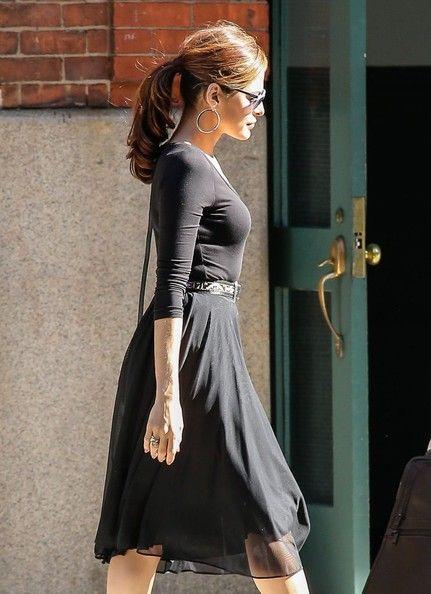 Eva Mendes Photos: Eva Mendes Leaves Her NYC Hotel
