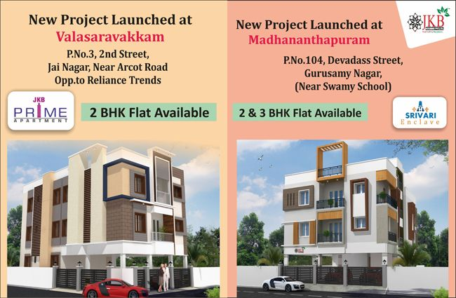 Jkb Housing Ongoing Projects In Porur Apartments For Sale Flat