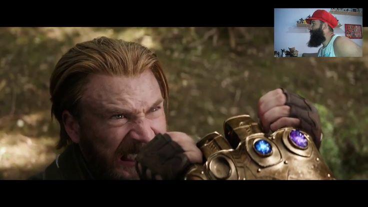 Avengers - Infinity War trailer 2 - Reação
