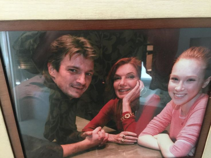 Susan Sullivan‏Verified account @realssullivan 7/1/17   Wishing my favorite family members @NathanFillion @MollyQuinn93     Canadians, Americans, independent and strong