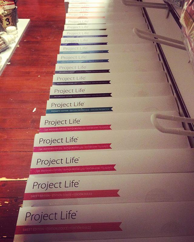 Limited Project Life sett finner du i nettbutikken vår  såååå mye fine #journalkort ❤️ #hobbykunstnorge #hobbykunst #projectlife #lommescrapping