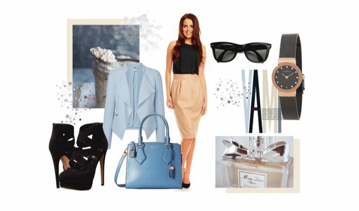 Wiosna 2015 - elegancka stylizacja do biura czy do pracy.
