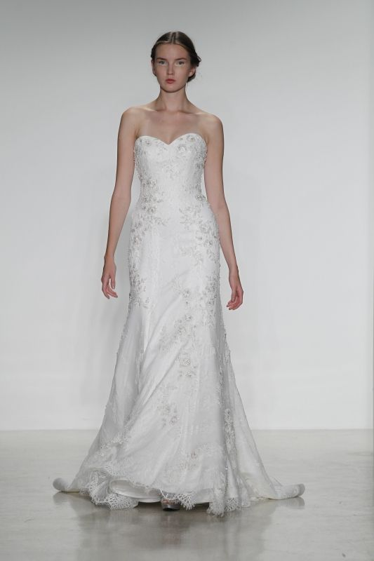 Elegant Kelly Faetanini Amara A Little Something White is a Connecticut bridal shop offering an exquisite selection of bridal gowns and accessories as well as