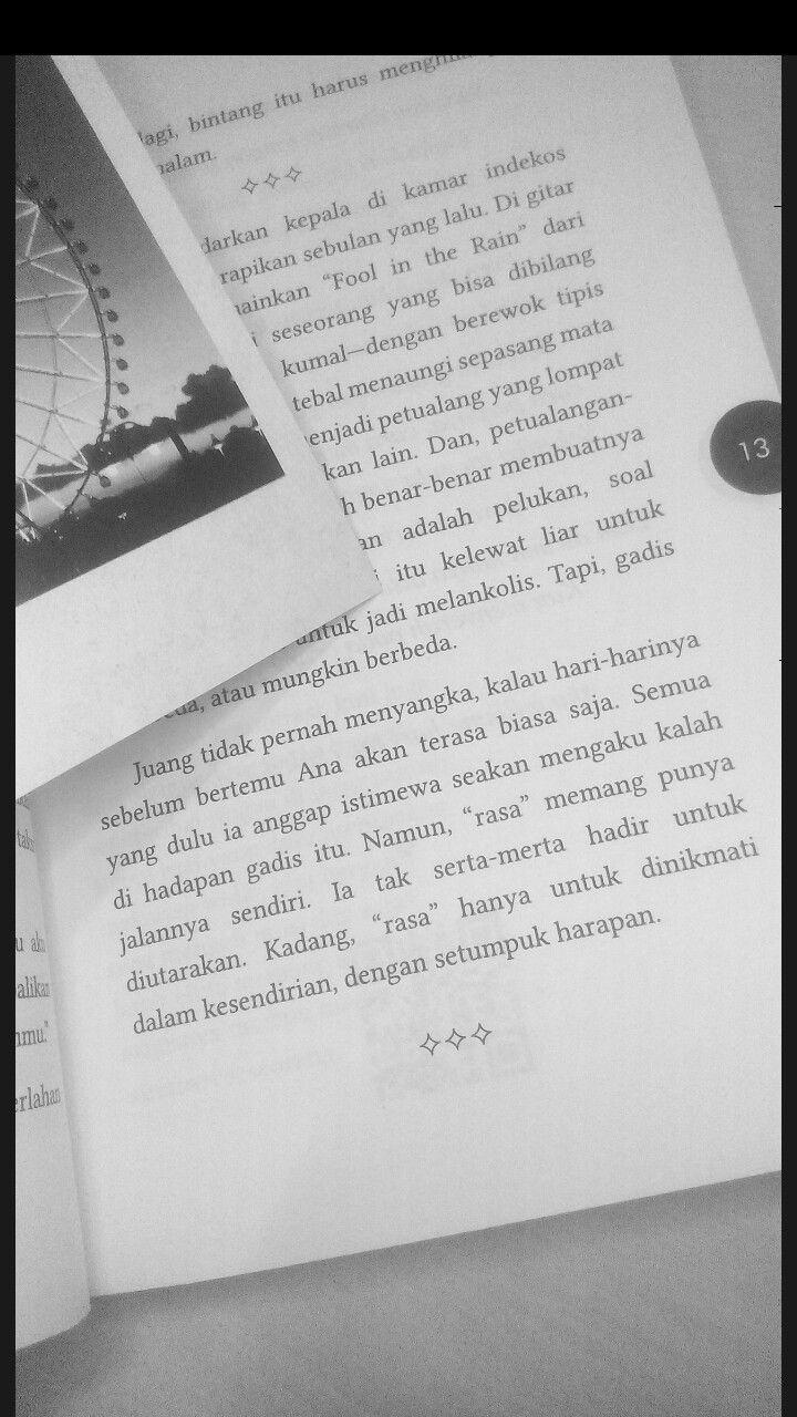 Novel Konspirasi Alam Semesta By Fiersa Besari Kutipan Buku