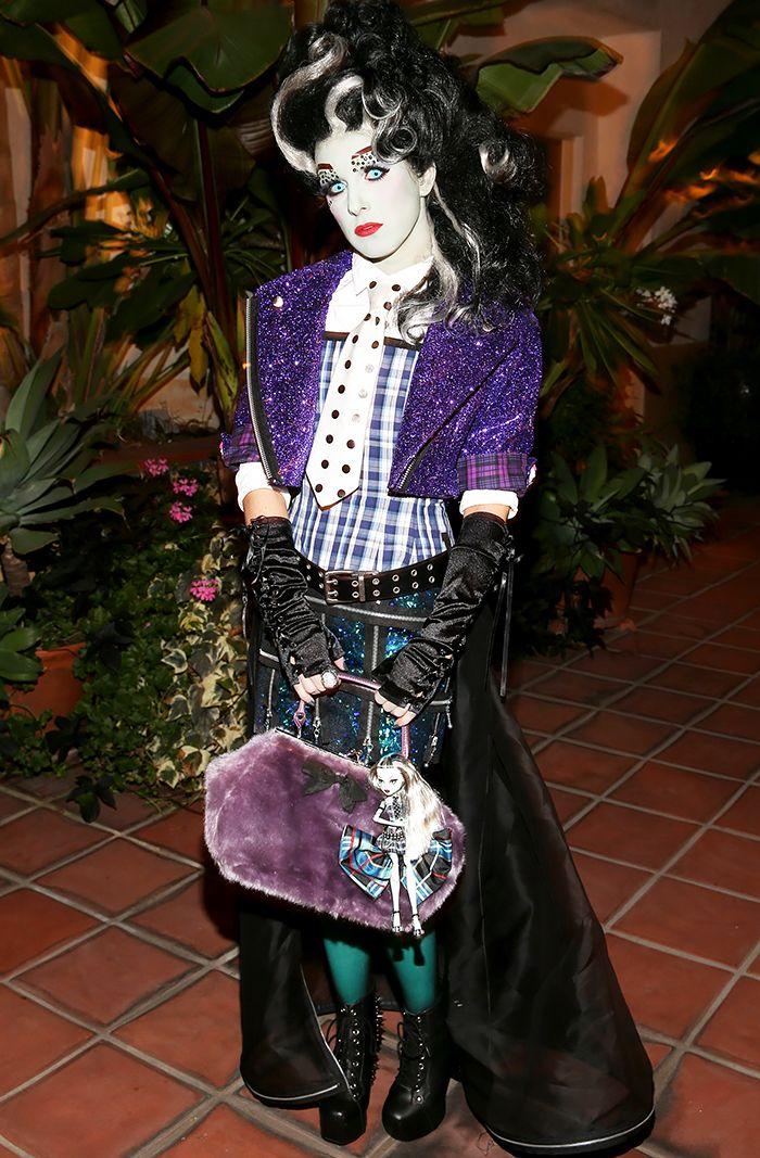 Image result for spookiest celebrity halloween makeup