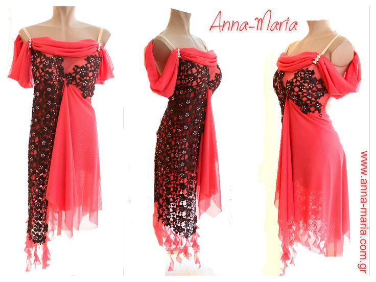 latin dresses and tango dresses by Anna-Maria