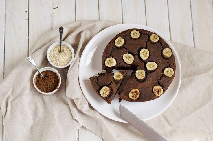 Vláčný banánový koláč - Fitness Recepty