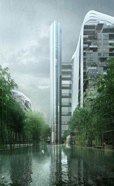 Nanjing Zendai Himalayas Center, MAD Architects.