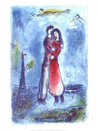 Marc Chagall - Joy