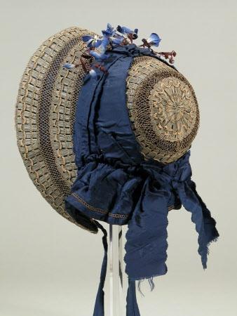 Circa 1850s-1860s bonnet, © National Trust / Richard Blakey.