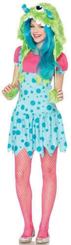 monster costume -pretty colors for pretty girls