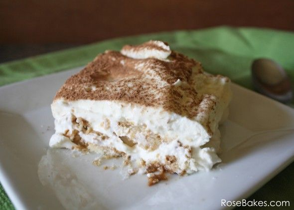 Easy Tiramisu (No Raw Eggs) | Recipe | Tiramisu, Easy Tiramisu Recipe ...