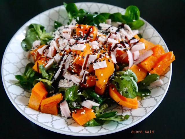 En été quoi de mieux qu'une bonne salade, mais salade ne veux pas dire sortir de table avec la faim. Je vous propose ainsi une recette...