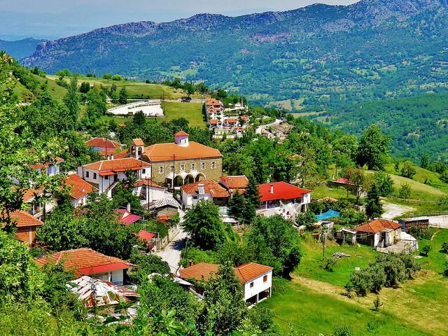 #Kryopigi #Village in #Karditsa,#Thessaly