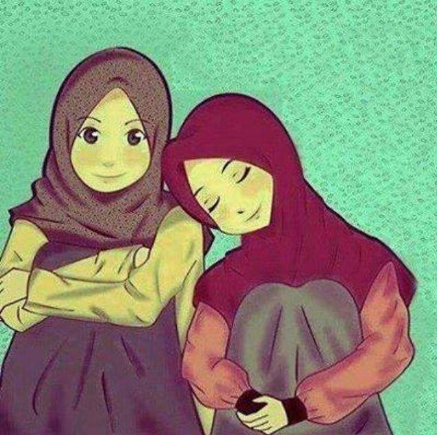 Best friends until jannah that u promise to me..insyaallah. LOV U FRIENDS