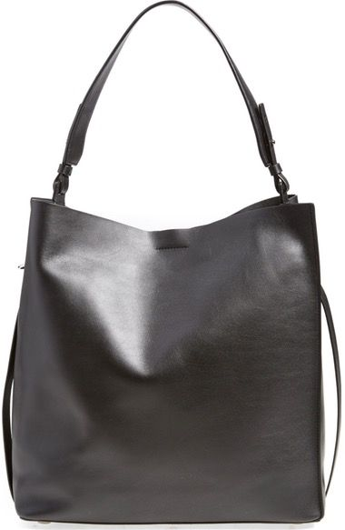 ALLSAINTS 'Paradise North/South' Calfskin Leather Tote available at #Nordstrom