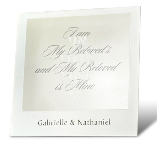 47 best hebrew and english greeting cards images on pinterest i am my beloved wedding invitation stopboris Choice Image