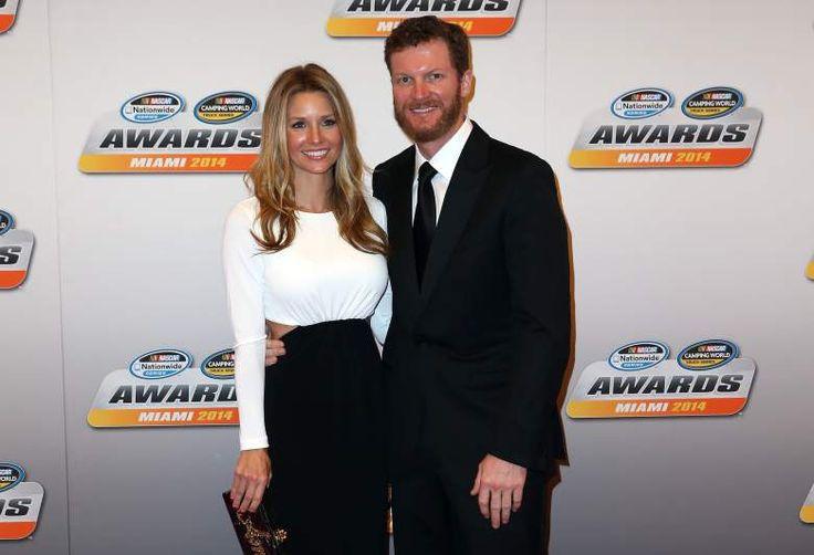 Dale Earnhardt Jr & wife