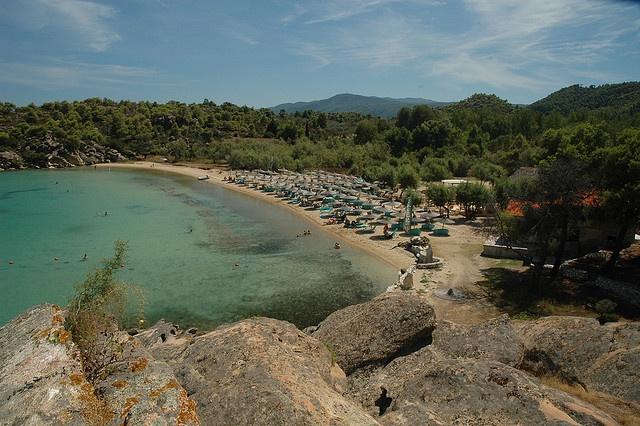 Talgo Beach Bar in Sithonia, Halkidiki, Greece