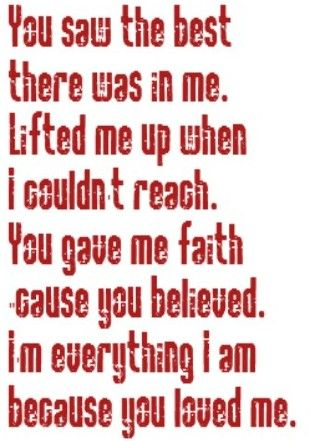 Celine Dion - Because You Loved Me - song lyrics, song quotes, music lyrics, music quotes, songs