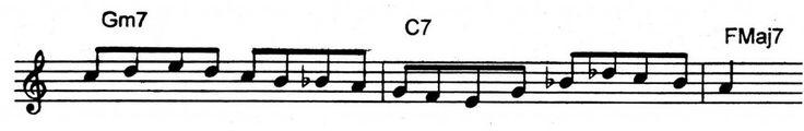 An easy bebop lick over a ii V7 I. | Jazz Trumpet Licks