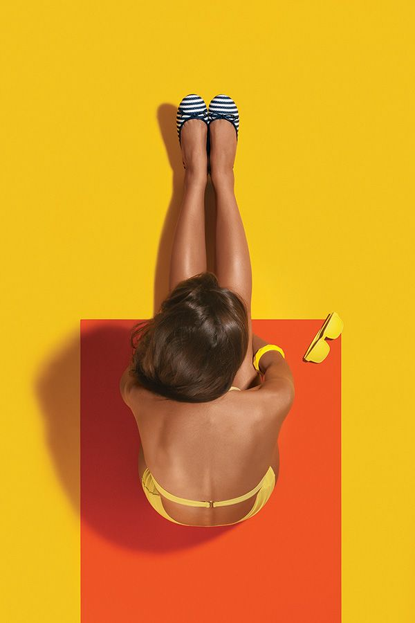 Anacapri Summer Surreal on Behance.| Summer | Color block | Bright colors |