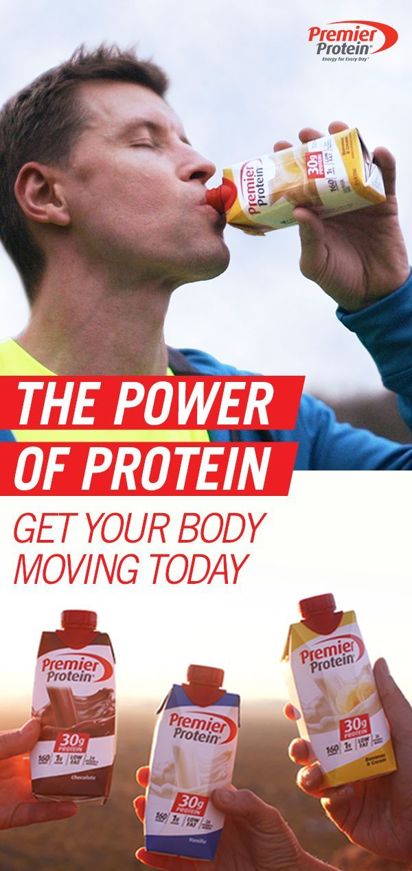 Get your body moving in the right direction with Premier Protein. With 30g of protein, 160 calories and only 1g of sugar, it's energy for great days ahead. Learn more about the power of protein today.
